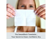 SweatBlock Antiperspirant Clinical Strength Towelettes - Image 2