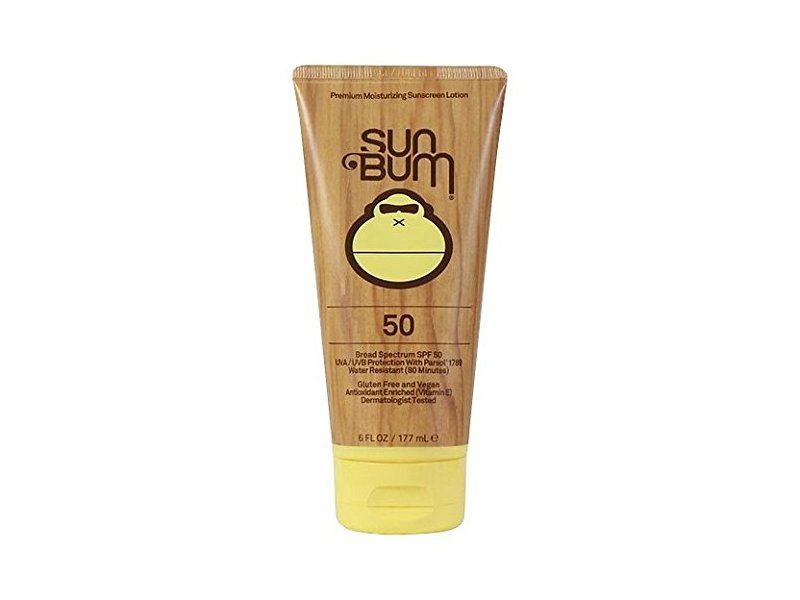 Sun Bum SPF 50 Face Lotion, 3 Fluid Ounce