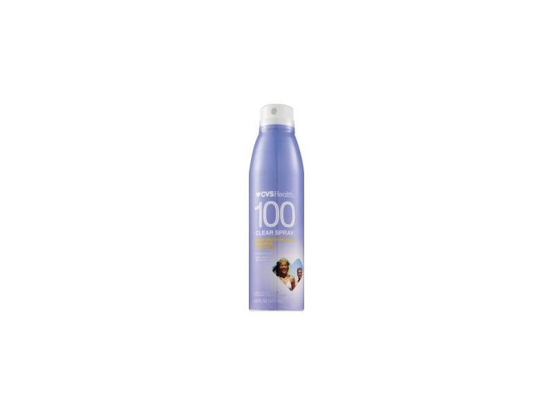 CVS Health Clear Broad Spectrum Sunscreen Spray, SPF 100