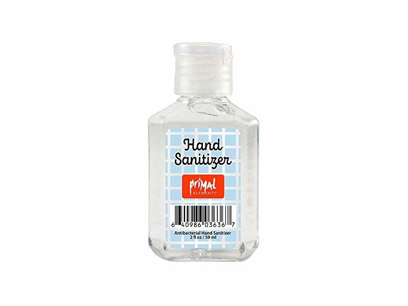 Primal Elements, Fresh Citrus Hand Sanitizer, 2 Ounce