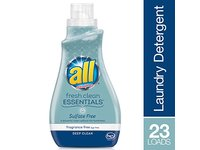 All Fresh Clean Essentials Laundry Detergent, Fragrance Free, 30 Ounce (23 loads) - Image 4