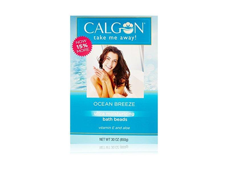 Calgon Ultra-Moisturizing Bath Beads (Ocean Breeze, 30-Ounce)