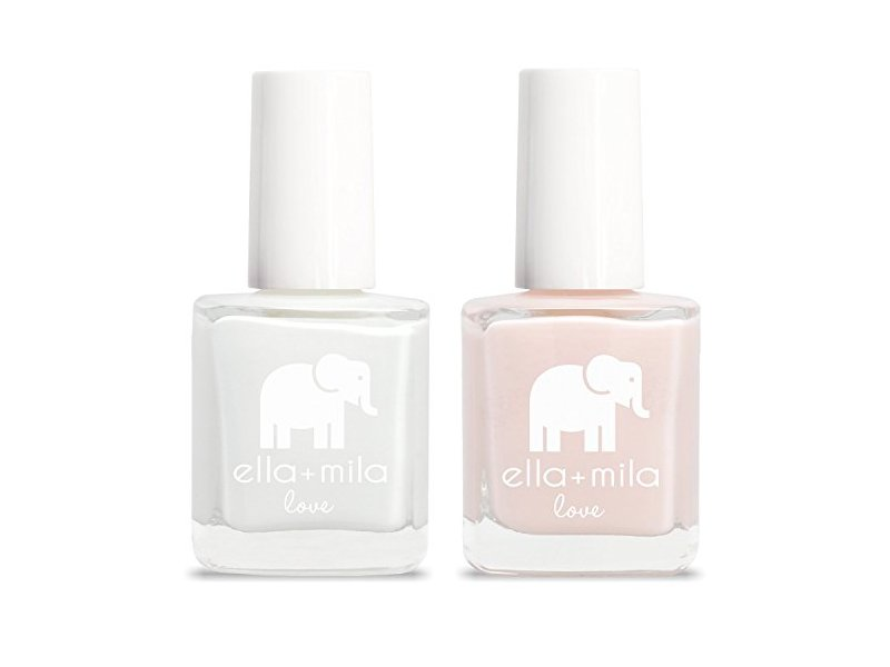 ella+mila Nail Polish, Love Collection, French Mani Set