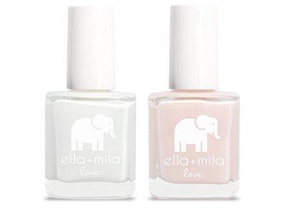 ella+mila Nail Polish, Love Collection, French Mani Set