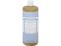 Dr. Bronner's 18-in-1 Hemp Baby Unscented Pure-Castile Soap, 32 fl. oz. - Image 2