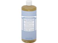 Dr. Bronner's 18-in-1 Hemp Baby Unscented Pure-Castile Soap, 32 fl. oz. - Image 1