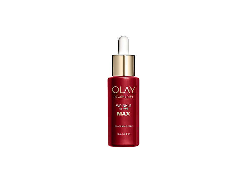 Olay Regenerist Max B3+ Wrinkle Serum, Fragrance-Free, 1.3 fl oz/40 ml