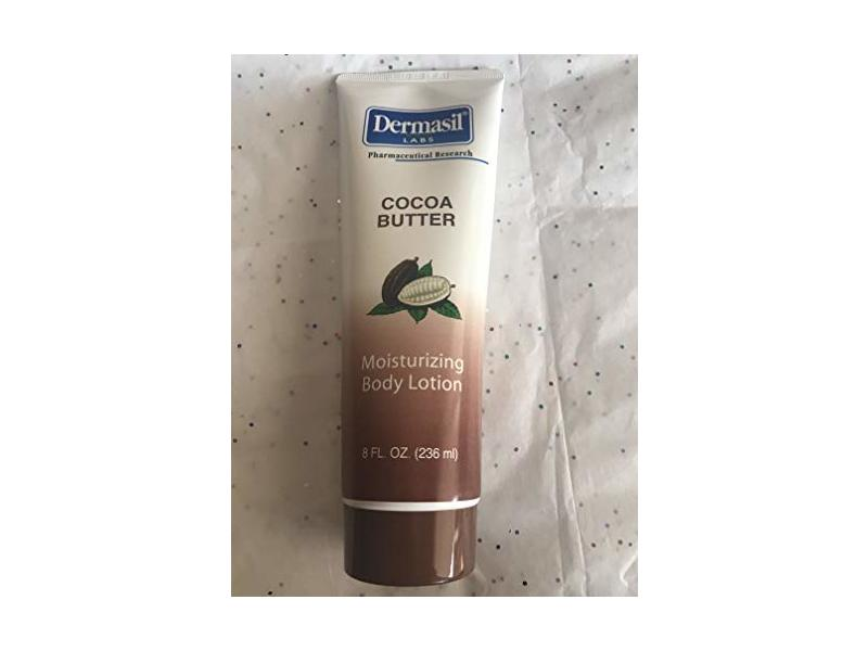Dermasil Labs Cocoa Butter Moisturizing Body Lotion, 8 fl oz