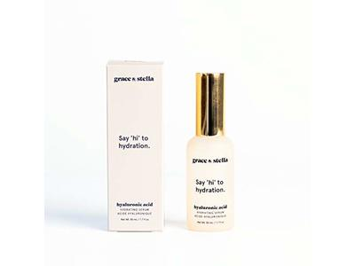 Grace & Stella Vegan Hyaluronic Acid Facial Serum, 1.7 fl oz