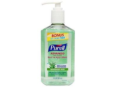 Purell Advanced Hand Sanitizer Refreshing Aloe, 12 fl oz (3 pack)
