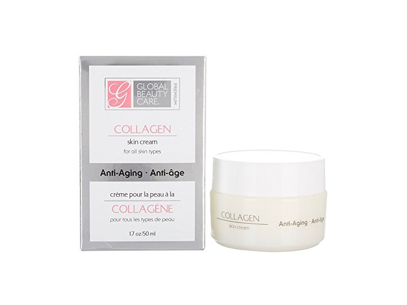 Global Beauty Care Premium Collagen Skin Cream 1 7 Oz Cream Ingredients And Reviews