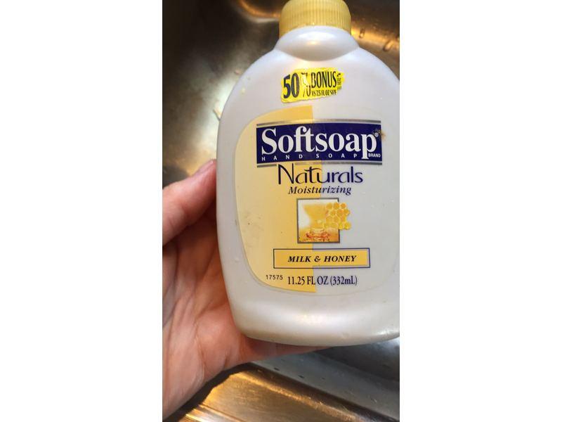 Softsoap Natural Moisturizing Hand Soap - Milk & Honey