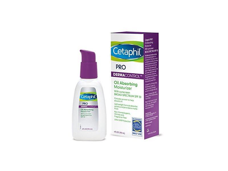 Cetaphil Dermacontrol Facial Moisturizer, SPF 30, 4 fl oz