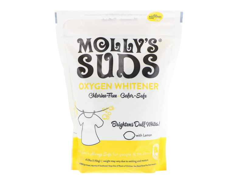 Molly's Suds Oxygen Whitener, 41.09 oz