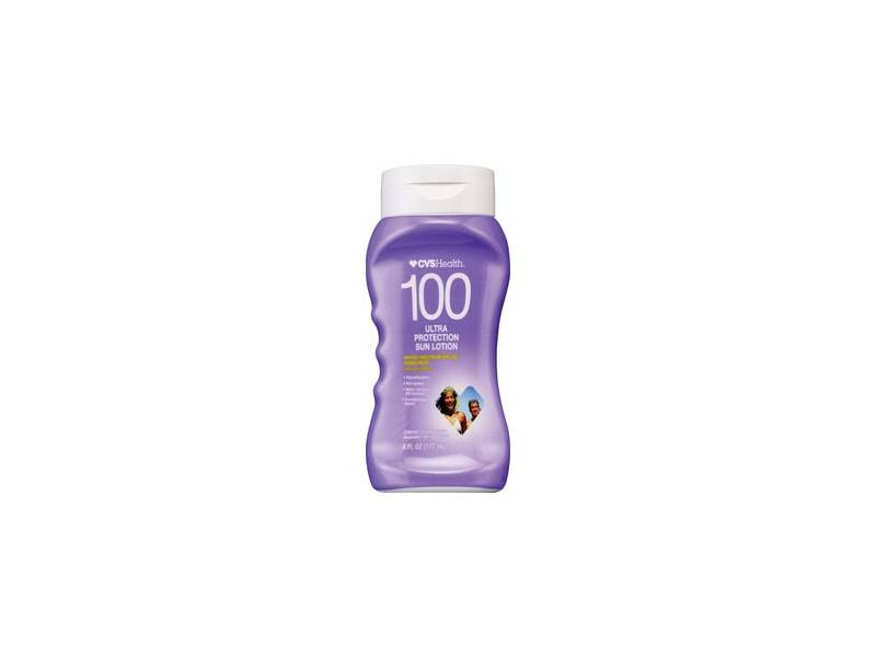 CVS Health Broad Spectrum SPF 100 Sunscreen Lotion