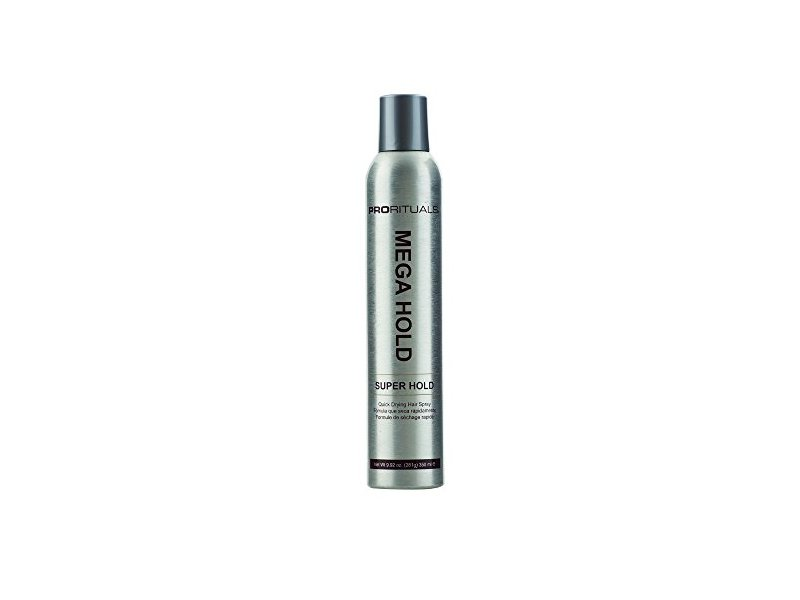ProRituals Mega Hold Super Hold Quick Drying Hair Spray, 9 oz