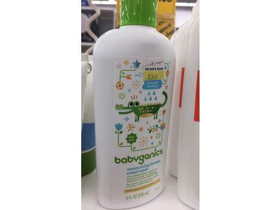 Babyganics Moisturizing Therapy Cream Wash, 8 fl oz - Image 3