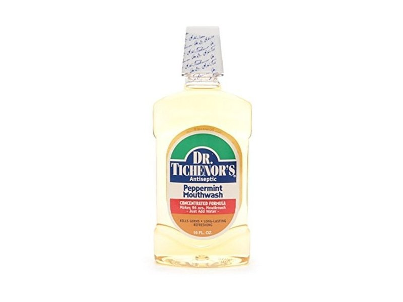 Dr. Tichenor's All Natural Mouthwash Concentrate, Peppermint, 16 fl oz