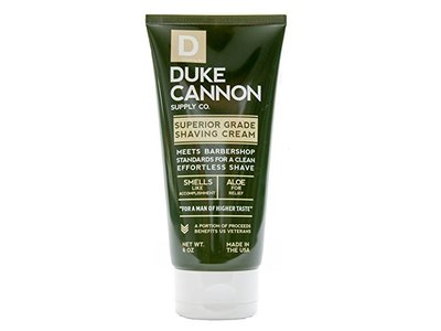 Duke Cannon Superior Grade Shaving Cream 6oz