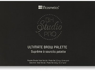 BH Cosmetics Studio Pro Ultimate Brow Palette - Image 1