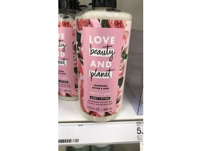 Love Beauty and Planet Murumuru Butter & Rose Body Lotion, Delicious Glow, 13.5 fl oz - Image 3