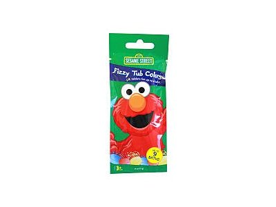 Sesame Street Tub Colors, Fizzy, 6 oz