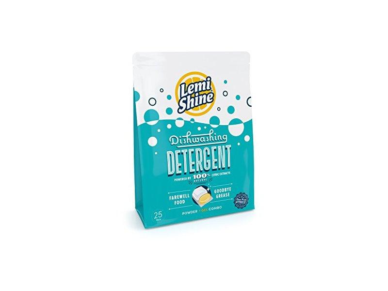 Lemi Shine Dishwashing Detergent, 25 Pacs