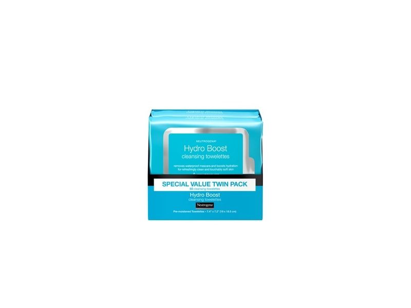 Neutrogena HydroBoost Face Cleansing & Makeup Remover Wipes