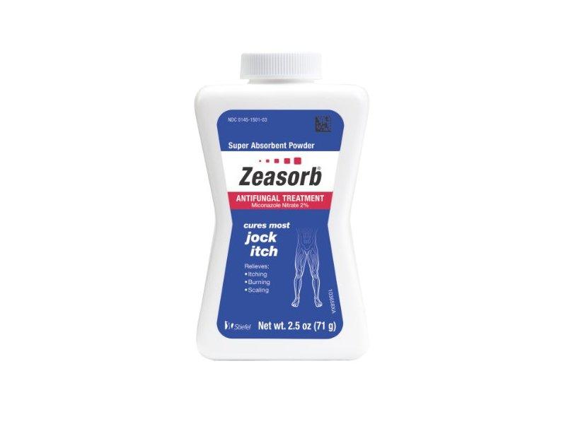 Zeasorb Antifungal Treatment Powder for Jock Itch, 2.5 Ounce