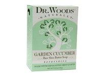 Dr. Woods Garden Cucumber Raw Shea Butter Soap - Image 2