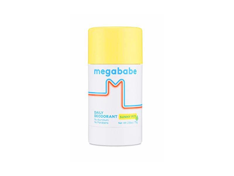 Megababe Daily Deodorant Sunny Pits, 2.6 oz