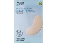 Beauty 360 24K Gold Hydrogel Brightening Eye Masks - Image 2