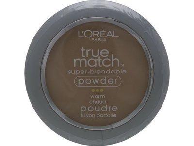 L'Oreal Paris True Match Super-Blendable Powder, Natural Beige, 0.33 Ounce