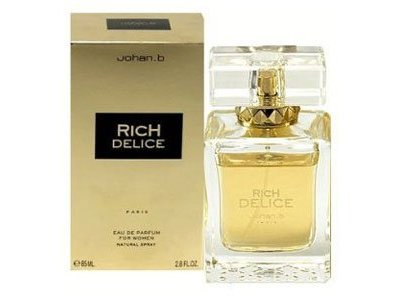 Johan B. Rich Delice for Women Eau De Parfum Spray, 2.8 Ounce
