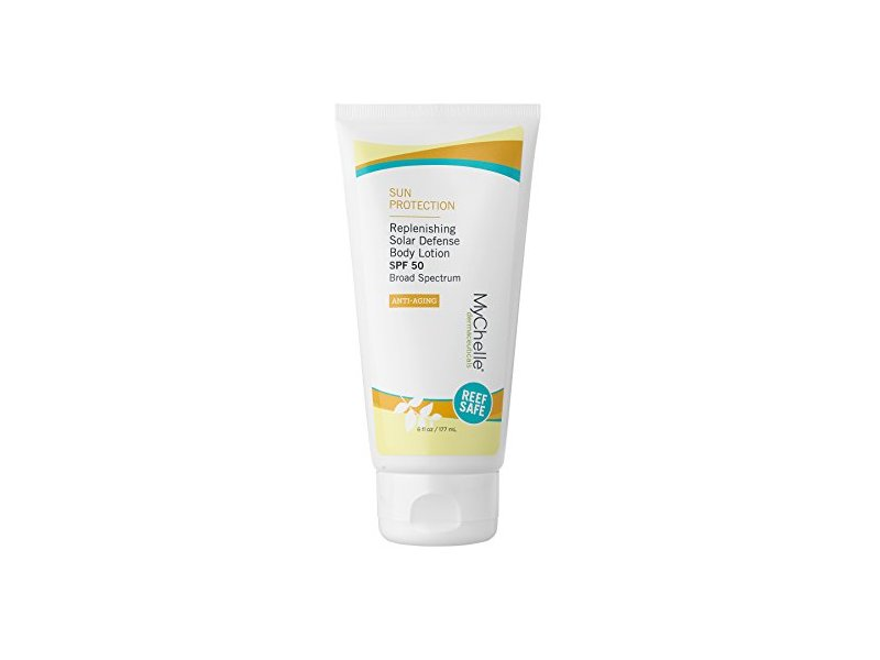 MyChelle Replenishing Solar Defense Body Lotion SPF 50, 6 fl oz