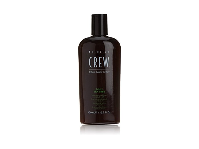 American Crew 3-In-1 Tea Tree Shampoo, Conditioner and Body Wash, 15.02 Ounce