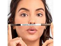 Honest Beauty Eyebrow Pencil with Spoolie, Taupe 0.039 oz. - Image 11