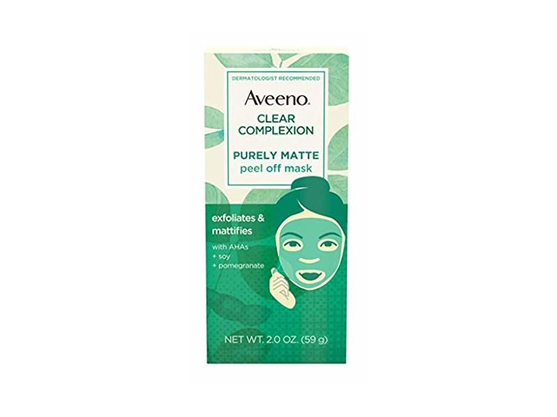 Aveeno Clear Complexion Purely Matte Peel-Off Mask 2 Ounce (3 Pack)