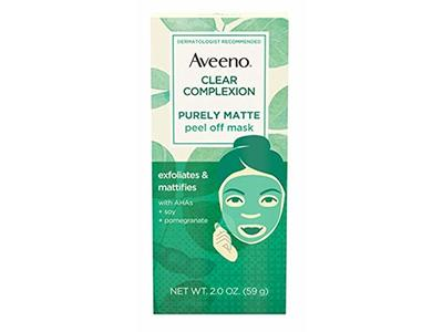 Aveeno Clear Complexion Purely Matte Peel-Off Mask 2 Ounce (3 Pack) - Image 1
