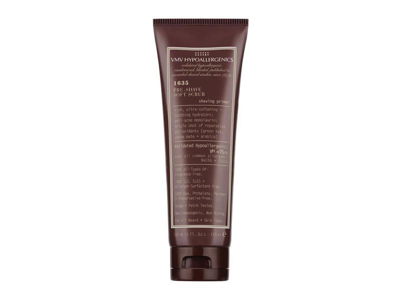 VMV Hypoallergenics 1635 Pre-Shave Scrub, 4.0 fl oz