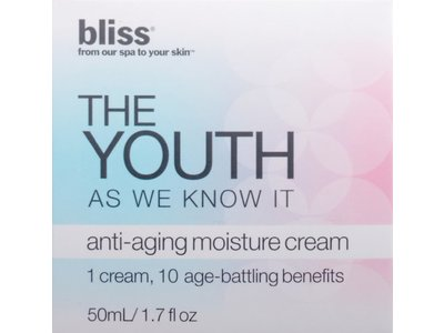 Bliss The Youth As We Know It Anti-Aging Moisture Cream, 1.7 fl. oz. - Image 4