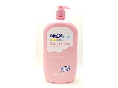 Equate Gentle Moisturizing Baby Lotion, 27 oz - Image 1