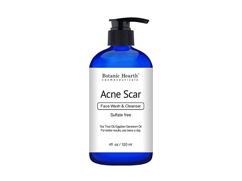 Botanic Hearth Acne Scar Face Wash & Cleanser, 4 fl oz