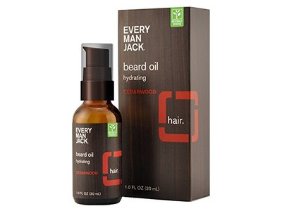 Every Man Jack Beard Oil, Cedarwood, 1 fl oz - Image 1
