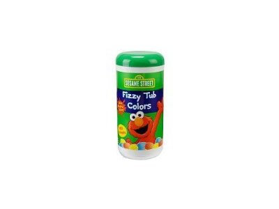 Sesame Street Fizzy Tub Color Tablets, 300 g