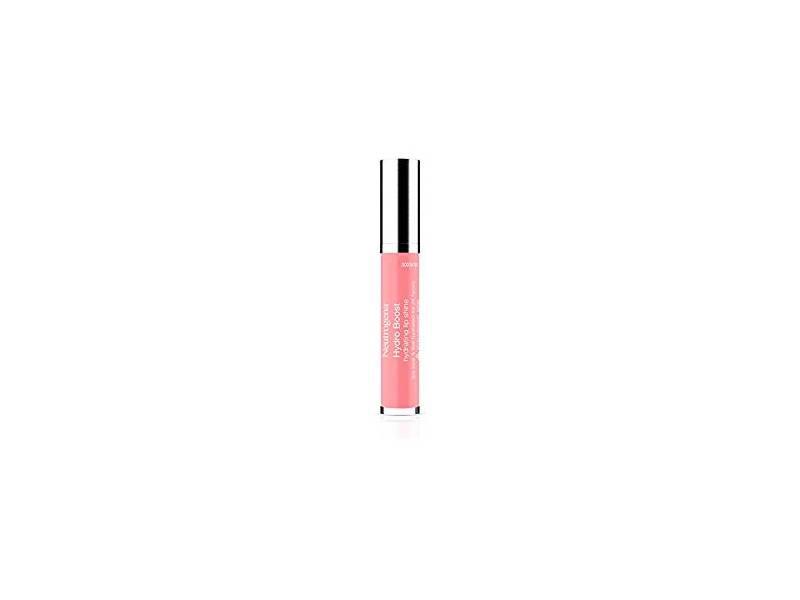 Neutrogena Hydro Boost Hydrating Lip Shine, Pink Sorbet 40, 0.10 ounce