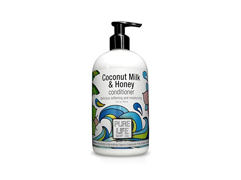 Pure Life Soap Conditioner, Coconut Milk and Honey, 15 Fluid Ounce