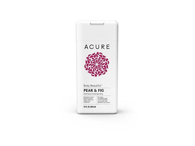 Acure Body Beautiful Shampoo, Pear & Fig, 12 Fluid Ounces