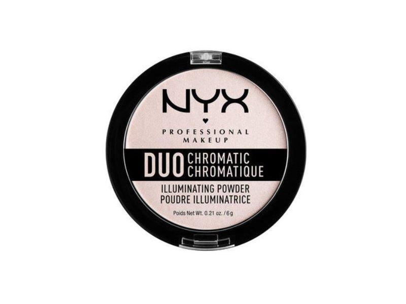 NYX Duo Chromatic Illuminating Powder, Snow Rose 04, 0.21 oz