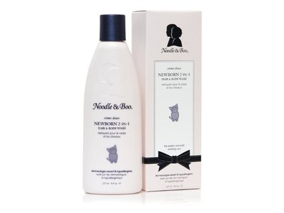 Noodle & Boo 2-in-1 Newborn Hair and Body Wash, 8 Oz.
